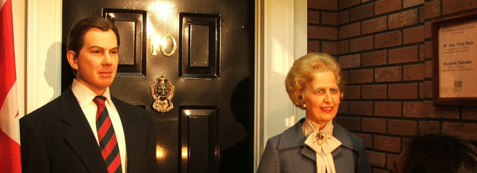 Thatcher's victory was Blair